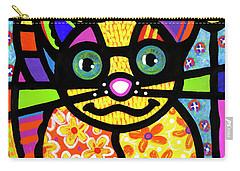 Bandit The Lemur Cat Carry-all Pouch