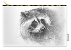 Bandit The Raccoon Carry-all Pouch