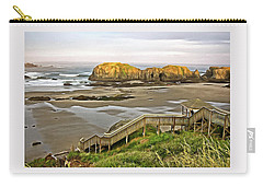Bandon Beach Stairway Carry-all Pouch
