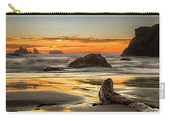 Bandon Orange Glow Sunset Carry-all Pouch