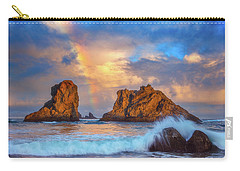 Bandon Rainbow Carry-all Pouch by Darren White