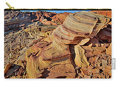 Bands Of Colorful Sandstone In Valley Of Fire Carry-all Pouch