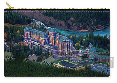 Banff Springs Hotel Carry-all Pouch by John Poon