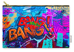 Bang Graffiti Nyc 2014 Carry-all Pouch by Joan Reese