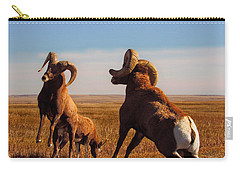 Bang Of The Bighorn Carry-all Pouch