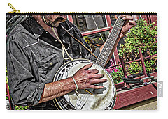 Banjo Man Orange Carry-all Pouch