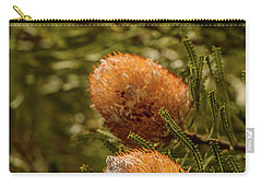 Carry-all Pouch featuring the photograph Banksia by Werner Padarin
