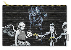 Banksy - Failure To Communicate Carry-all Pouch