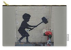 Banksy In New York Carry-all Pouch