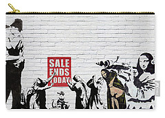 Banksy - Saints And Sinners   Carry-all Pouch