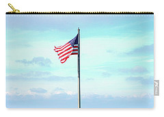 Banner Of Freedom Carry-all Pouch by Lon Casler Bixby