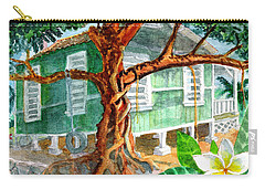 Banyan In The Backyard Carry-all Pouch
