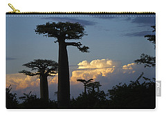 Baobabs And Storm Clouds Carry-all Pouch