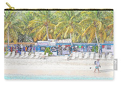 Bar And Grill At The Beach Carry-all Pouch