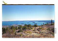 Bar Harbor From Cadillac Carry-all Pouch