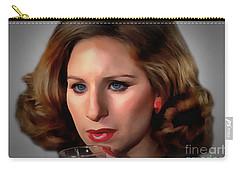 Barbara Streisand Carry-all Pouch by Sergey Lukashin