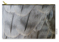 Barbary Falcon Feathers Carry-all Pouch
