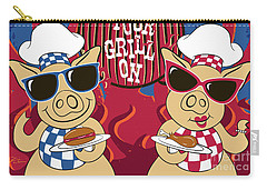 Barbecue Pigs Carry-all Pouch