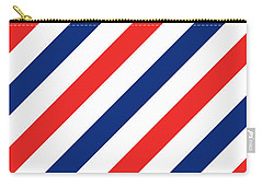 Barber Stripes Carry-all Pouch