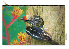 Barbet Nestlings Carry-all Pouch