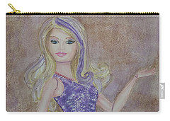 Barbie ... Purple Carry-all Pouch