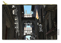 Carry-all Pouch featuring the photograph Barcelona 1 by Andrew Fare