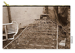 Carry-all Pouch featuring the photograph Bare Bones Miners Camp by Marie Neder