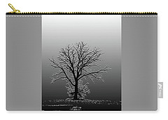 Bare Tree In Fog- Pe Filter Carry-all Pouch by Nancy Landry