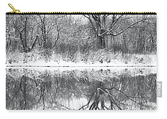 Carry-all Pouch featuring the photograph Bare Trees by Darren White