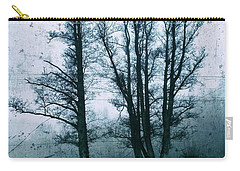 Bare Winter Trees Carry-all Pouch by Karen Stahlros