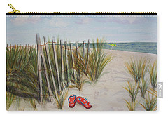 Barefoot On The Beach Carry-all Pouch