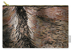 Carry-all Pouch featuring the photograph Bark At Woodstream Village by Dutch Bieber