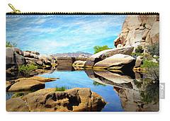 Barker Dam - Joshua Tree National Park Carry-all Pouch