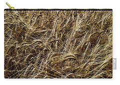 Carry-all Pouch featuring the photograph Barley by RKAB Works