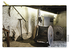 Carry-all Pouch featuring the photograph Barley Warehouse At Lockes Distillery by RicardMN Photography