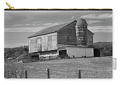 Carry-all Pouch featuring the photograph Barn 1 by Mike McGlothlen