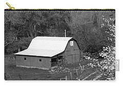 Carry-all Pouch featuring the photograph Barn 3 by Mike McGlothlen