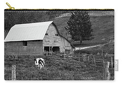 Carry-all Pouch featuring the photograph Barn 4 by Mike McGlothlen