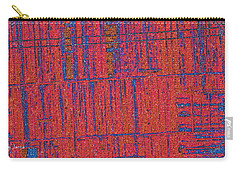 Carry-all Pouch featuring the photograph Barn Abstract  by Tom Janca