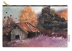 Barn And Birds  Carry-all Pouch
