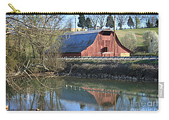 Barn And Reflections Carry-all Pouch