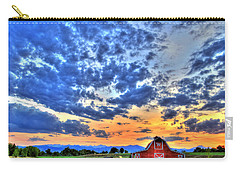 Barn And Sky Carry-all Pouch by Scott Mahon