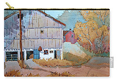 Barn Door Whimsy Carry-all Pouch by Joyce Hicks