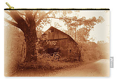 Barn Hocking Co Ohio Sepia Carry-all Pouch