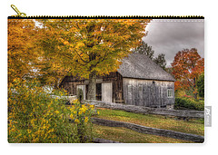 Barn In Autumn Carry-all Pouch by Joann Vitali