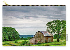 Carry-all Pouch featuring the photograph Barn In Bliss Township by Bill Gallagher