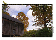 Barn In Fall Carry-all Pouch by Lois Lepisto