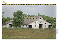 Carry-all Pouch featuring the photograph Barn In The Field 948 by Ericamaxine Price