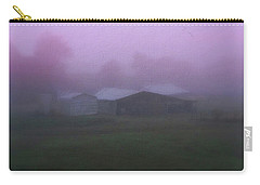 Barn On A Misty Morning Carry-all Pouch