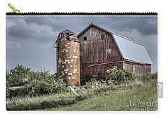 Barn On Hill Carry-all Pouch